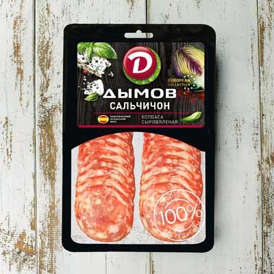 Сыровяленые колбасы Дымов